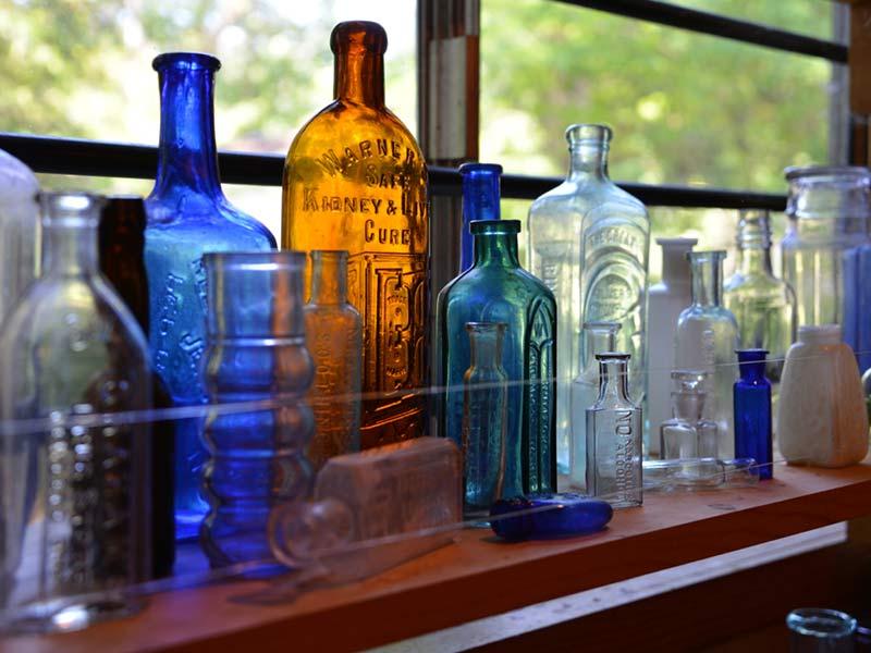 Found Antique Bottles
