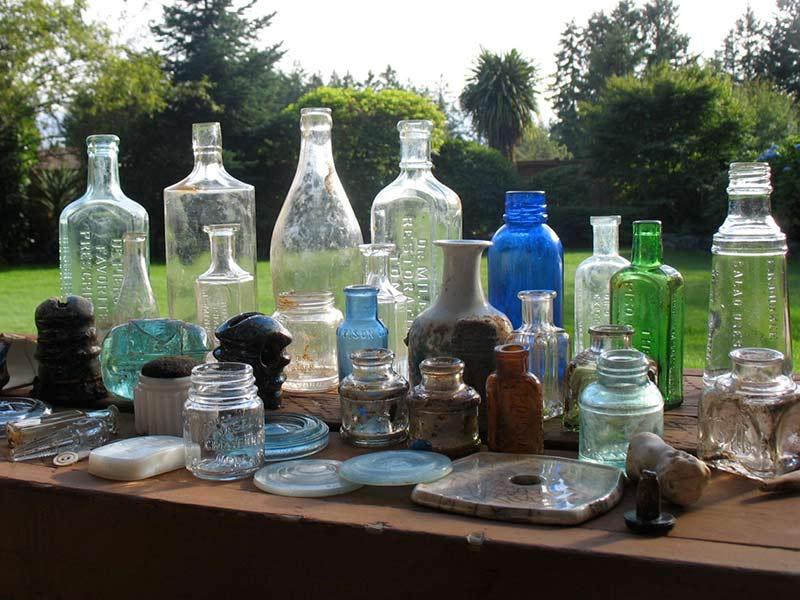 Recently Dug Bottles