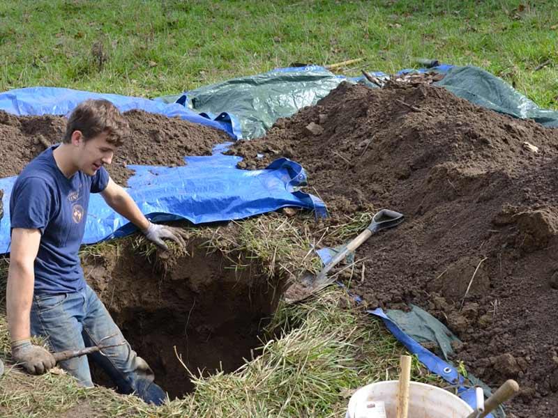 Farm Privy Dig
