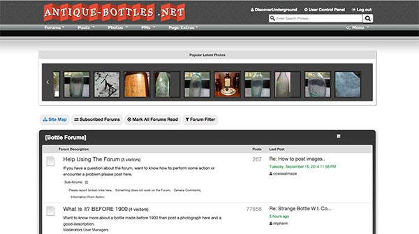 Antique-bottles.net